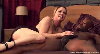 White Swinger Wifey Tries Interracial Cheating