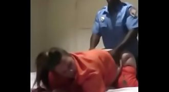 Female Inmate Takes BBC From Correctional Officer