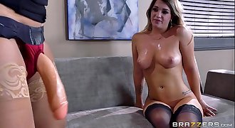 Brazzers - Xxx office strapon fun with Eva Jenna