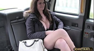 Perky tits chick gets pounded hard by a gigantic prick