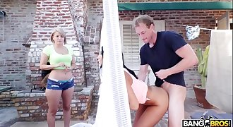 BANGBROS - Big Tits Round Asses Babe August Ames Fucks Her Date