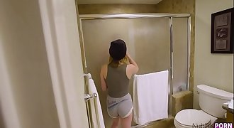 Kristen Scott Gets Fucked In The Bathroom