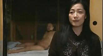 Japanese blind mother gave her daughter a step father - Pt2 On FilfCam.com