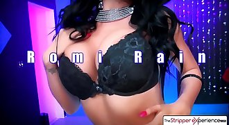 The Stripper Experience - Romi Rain suck your big dick in the champagne room
