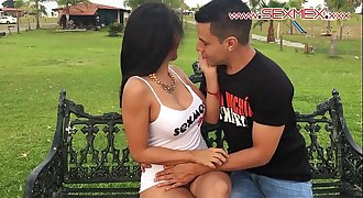 Silvia Santez Mexican brunnete Whore fucks a guy she just met @sexmexnetwork
