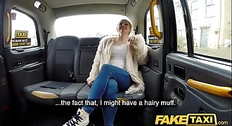 Fake Taxi Serial squirting from busty blonde amateur on back seat